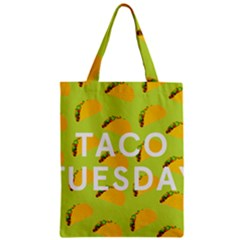Bread Taco Tuesday Zipper Classic Tote Bag