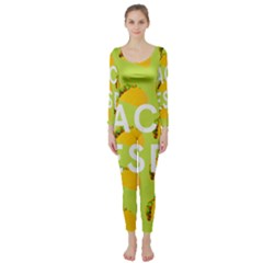 Bread Taco Tuesday Long Sleeve Catsuit