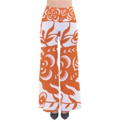 Chinese Zodiac Horoscope Pig Star Orange Pants