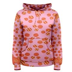 Distance Absence Sea Holes Polka Dot Line Circle Orange Chevron Wave Women s Pullover Hoodie