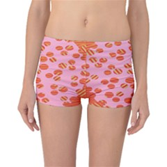 Distance Absence Sea Holes Polka Dot Line Circle Orange Chevron Wave Boyleg Bikini Bottoms