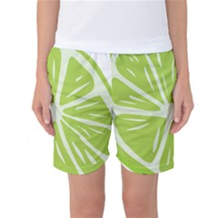 Gerald Lime Green Women s Basketball Shorts