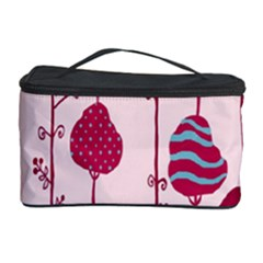 Flower Floral Mpink Frame Cosmetic Storage Case