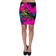 Colors Bodycon Skirt
