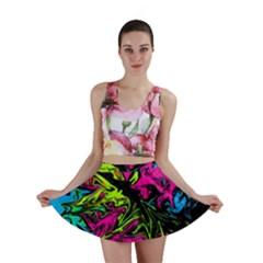 Colors Mini Skirt