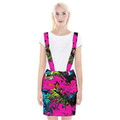Colors Braces Suspender Skirt