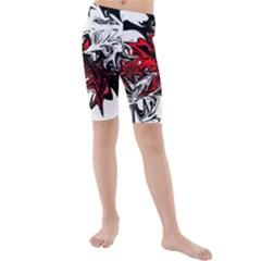 Colors Kids  Mid Length Swim Shorts