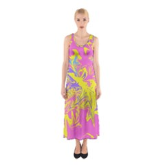Colors Sleeveless Maxi Dress