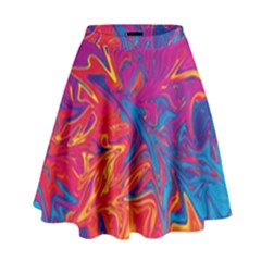 Colors High Waist Skirt