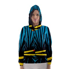 Match Cover Matches Hooded Wind Breaker (Women)