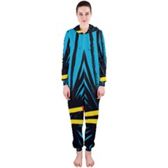 Match Cover Matches Hooded Jumpsuit (Ladies)