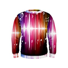 Music Data Science Line Kids  Sweatshirt