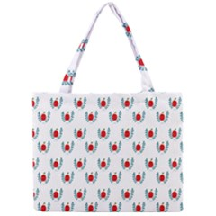 Sage Apple Wrap Smile Face Fruit Mini Tote Bag