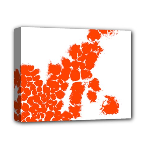 Red Spot Paint Deluxe Canvas 14  x 11