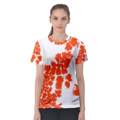 Red Spot Paint Women s Sport Mesh Tee