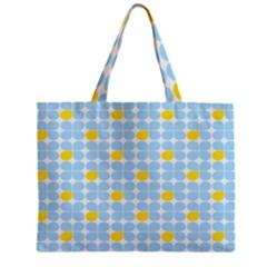 Retro Stig Lindberg Vintage Posters Yellow Blue Zipper Mini Tote Bag