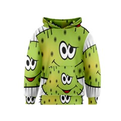 Thorn Face Mask Animals Monster Green Polka Kids  Pullover Hoodie