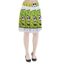 Thorn Face Mask Animals Monster Green Polka Pleated Skirt