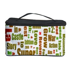 Screen Source Serif Text Cosmetic Storage Case