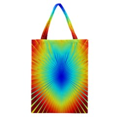 View Max Gain Resize Flower Floral Light Line Chevron Classic Tote Bag
