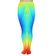 View Max Gain Resize Flower Floral Light Line Chevron Women s Tights