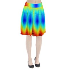 View Max Gain Resize Flower Floral Light Line Chevron Pleated Skirt