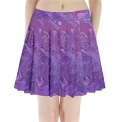 Colors Pleated Mini Skirt