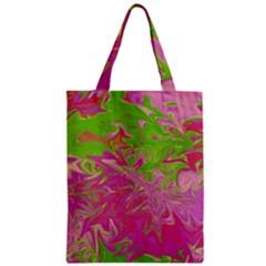 Colors Zipper Classic Tote Bag