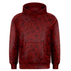 Red Roses Field Men s Pullover Hoodie