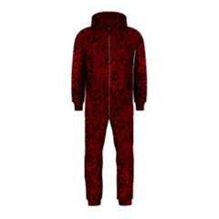 Red Roses Field Hooded Jumpsuit (Kids)