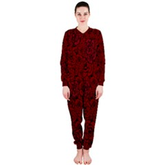 Red Roses Field OnePiece Jumpsuit (Ladies)
