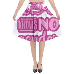 Love Knows No Gender Flared Midi Skirt