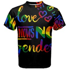 Love knows no gender Men s Cotton Tee