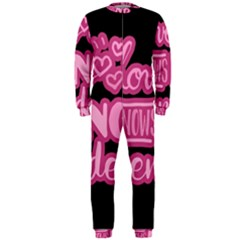 Love knows no gender OnePiece Jumpsuit (Men)