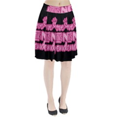 Love knows no gender Pleated Skirt