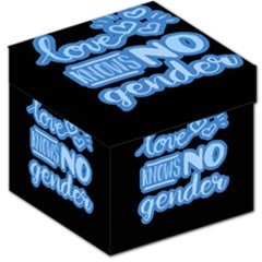 Love knows no gender Storage Stool 12
