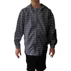 Lines pattern Hooded Wind Breaker (Kids)