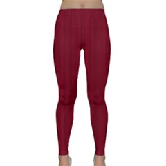 Lines pattern Classic Yoga Leggings