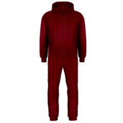 Lines pattern Hooded Jumpsuit (Men)