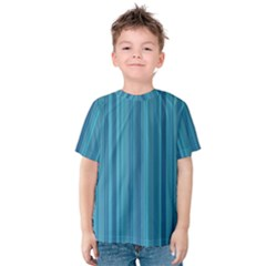 Lines pattern Kids  Cotton Tee