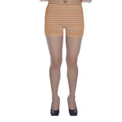Lines pattern Skinny Shorts
