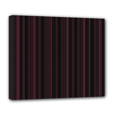 Lines pattern Deluxe Canvas 24  x 20