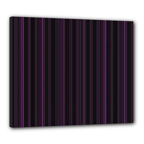 Lines pattern Canvas 24  x 20