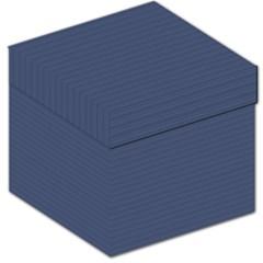 Lines pattern Storage Stool 12