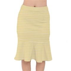Lines Pattern Mermaid Skirt