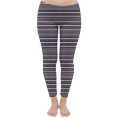 Lines pattern Classic Winter Leggings