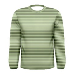 Lines pattern Men s Long Sleeve Tee