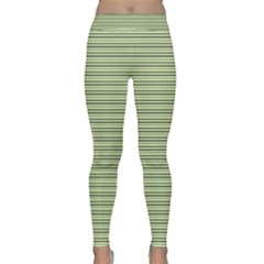 Lines pattern Classic Yoga Leggings