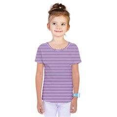 Lines pattern Kids  One Piece Tee