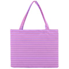 Lines pattern Mini Tote Bag